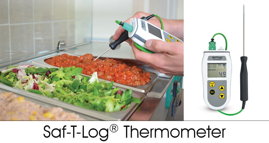 SAF-T-LOG THERMOMETER - HACCP