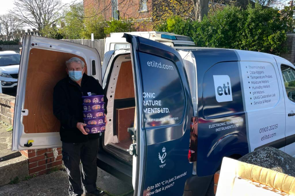 ETI Supports Local Food Bank Over Festive Period