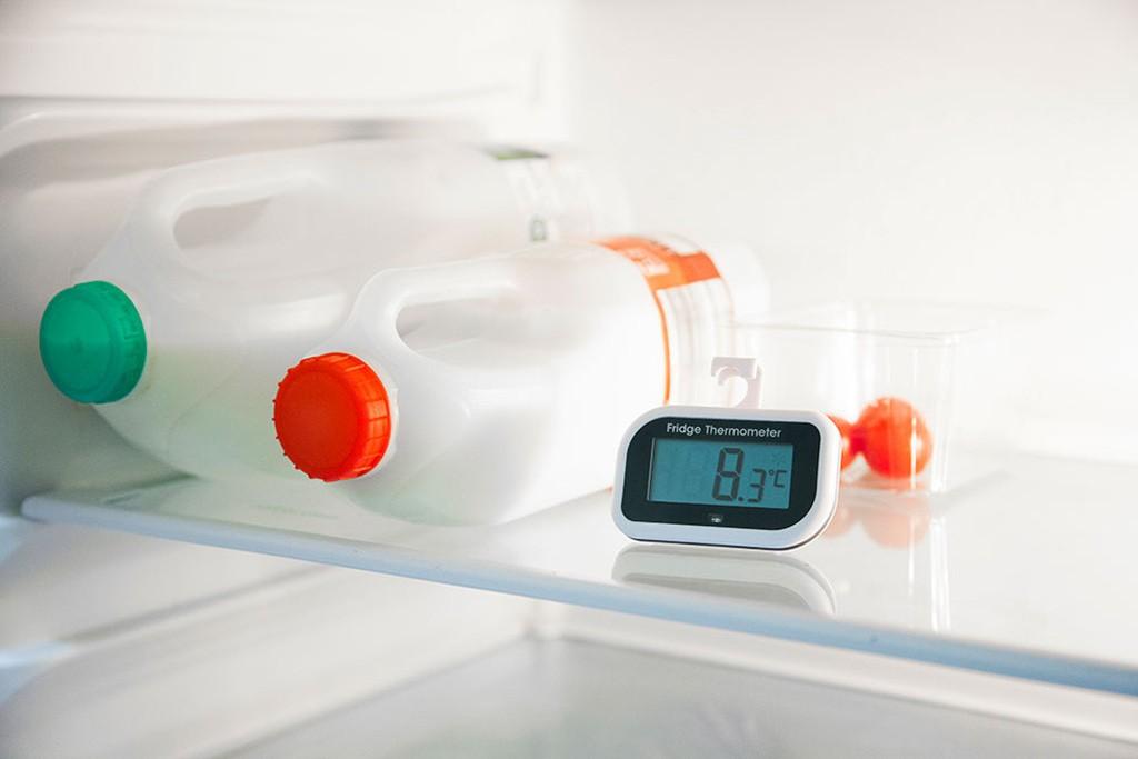 Reducing food waste: fridge temperatures